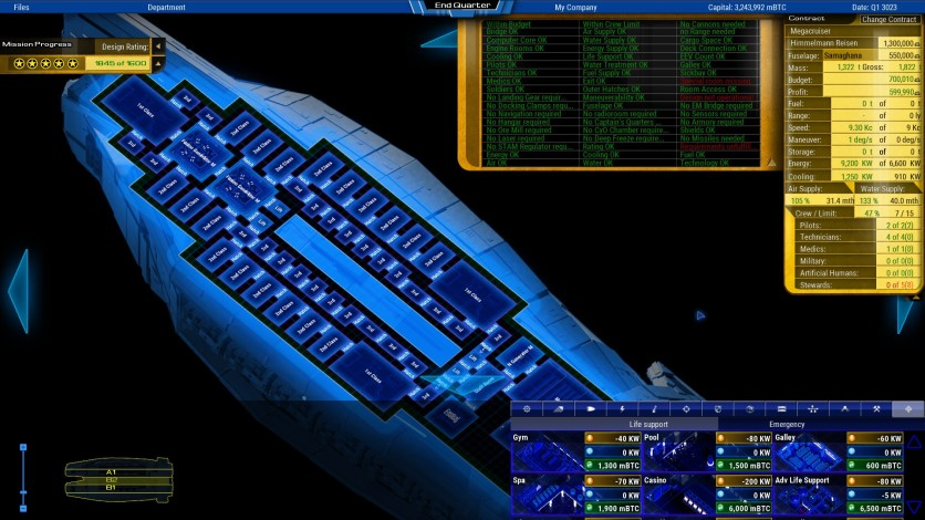 Screenshot 2 - Starship Corporation: Cruise Ships