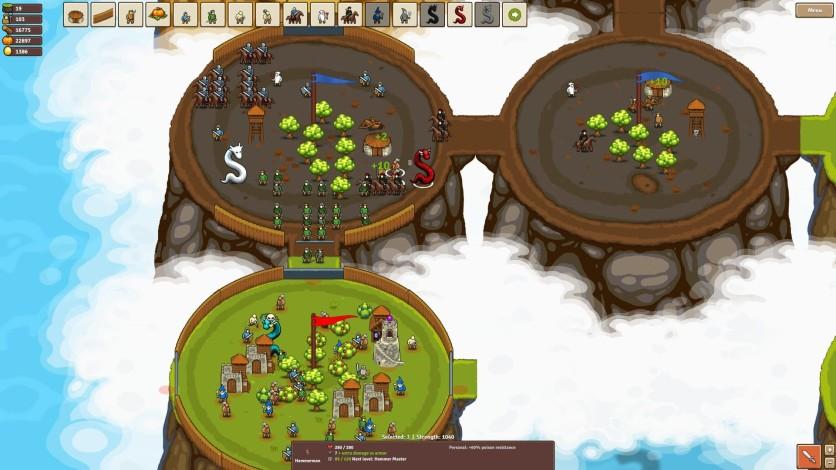 Screenshot 2 - Circle Empires: Apex Monsters!
