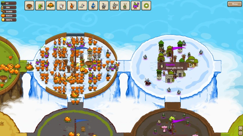 Screenshot 6 - Circle Empires: Apex Monsters!