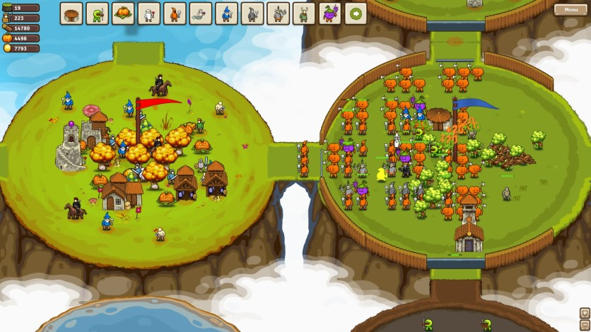 Screenshot 1 - Circle Empires: Apex Monsters!