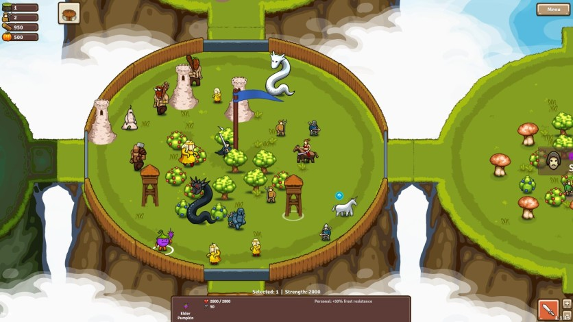 Screenshot 3 - Circle Empires: Apex Monsters!