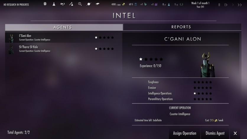 Screenshot 2 - Dawn of Andromeda: Subterfuge