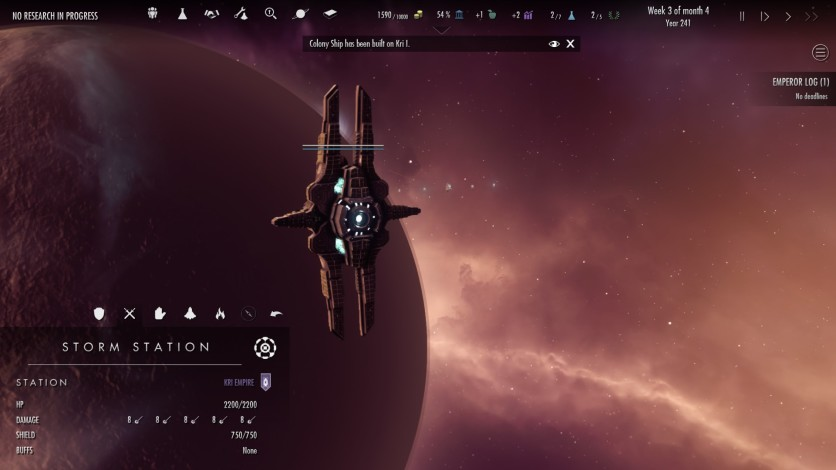 Screenshot 1 - Dawn of Andromeda: Subterfuge