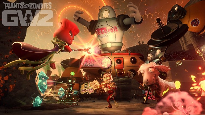 Screenshot 3 - Plants vs. Zombies: Garden Warfare 2