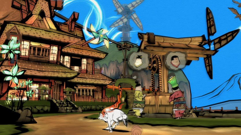 Screenshot 2 - Okami HD