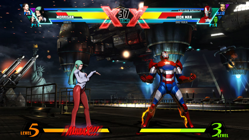 Screenshot 2 - ULTIMATE MARVEL VS. CAPCOM 3