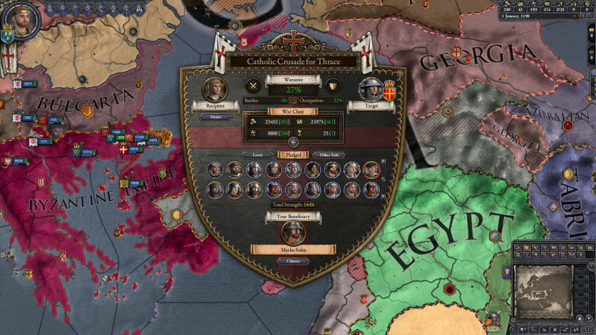 Screenshot 5 - Expansion - Crusader Kings II: Holy Fury