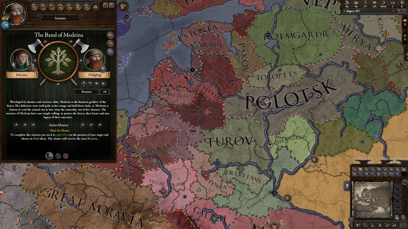 Screenshot 2 - Expansion - Crusader Kings II: Holy Fury