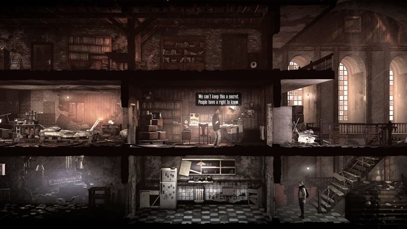 Screenshot 2 - This War of Mine - The Last Broadcast