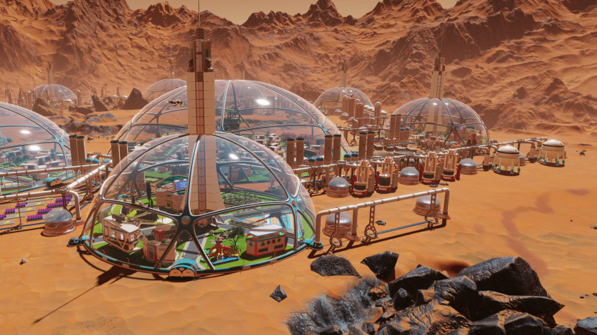 Screenshot 1 - Surviving Mars: Stellaris Dome Set