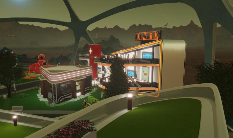 Screenshot 5 - Surviving Mars: Stellaris Dome Set