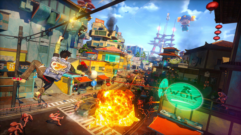 Screenshot 5 - Sunset Overdrive