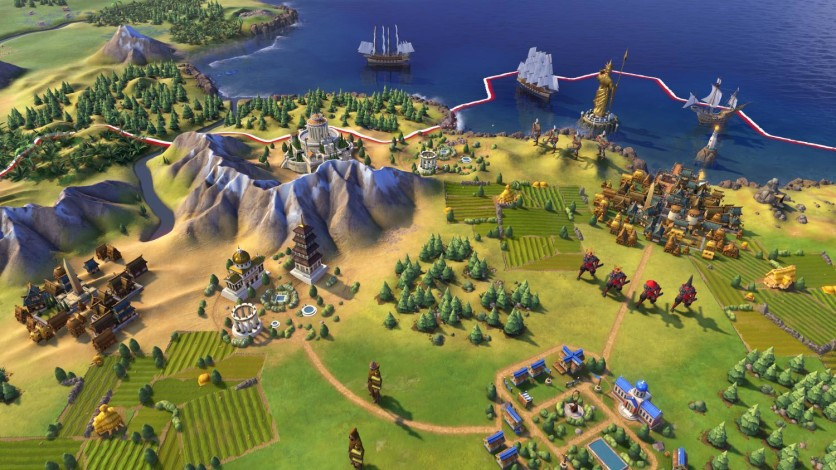 Screenshot 2 - Sid Meier's Civilization VI (MAC)