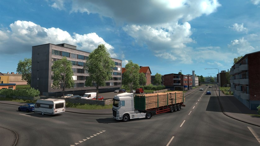 Screenshot 3 - Euro Truck Simulator 2 - Beyond the Baltic Sea
