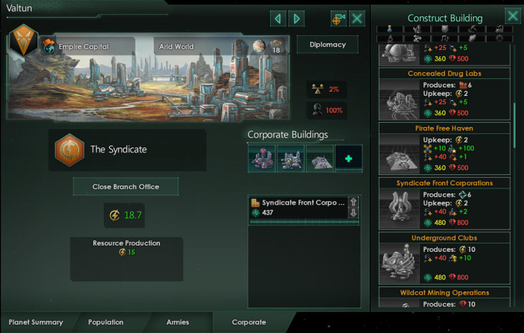 Screenshot 6 - Stellaris: MegaCorp