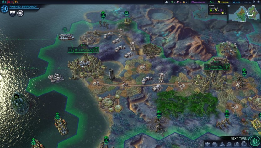 Screenshot 2 - Sid Meier's Civilization Beyond Earth - The Collection (MAC)