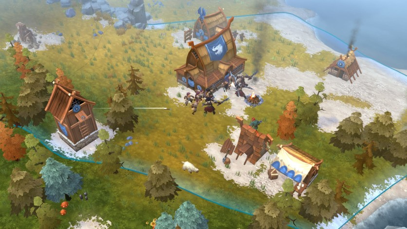 Screenshot 4 - Northgard - Nidhogg, Clan of the Dragon