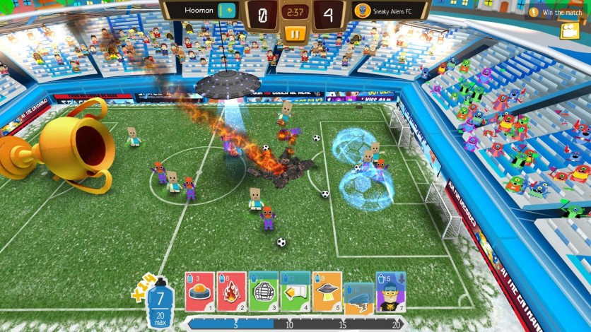 Screenshot 4 - Crazy Soccer: Football Stars