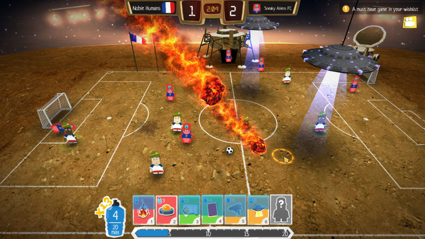 Screenshot 2 - Crazy Soccer: Football Stars