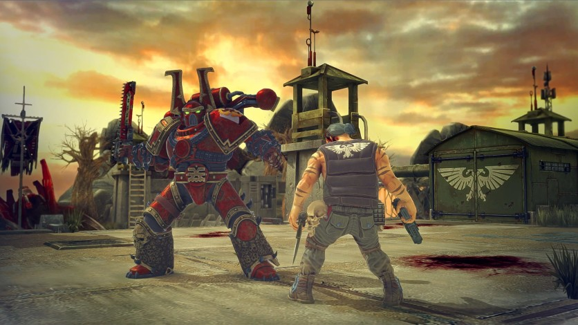 Screenshot 2 - Warhammer 40.000: Space Wolf - Fall of Kanak