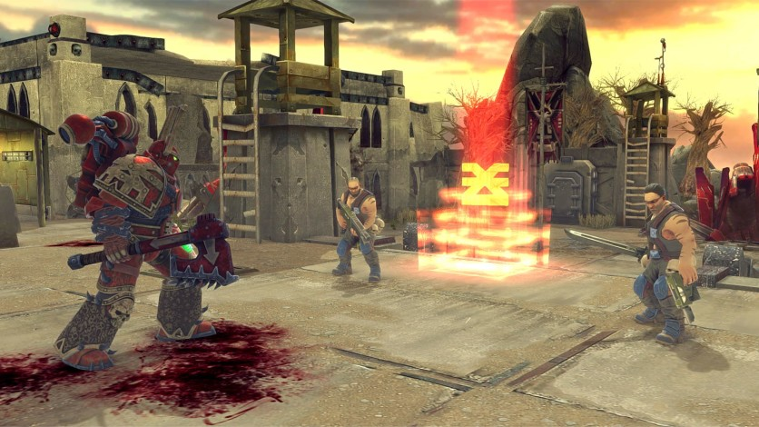 Screenshot 4 - Warhammer 40.000: Space Wolf - Fall of Kanak