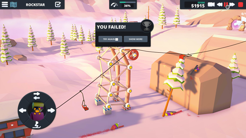 Screenshot 5 - When Ski Lifts Go Wrong