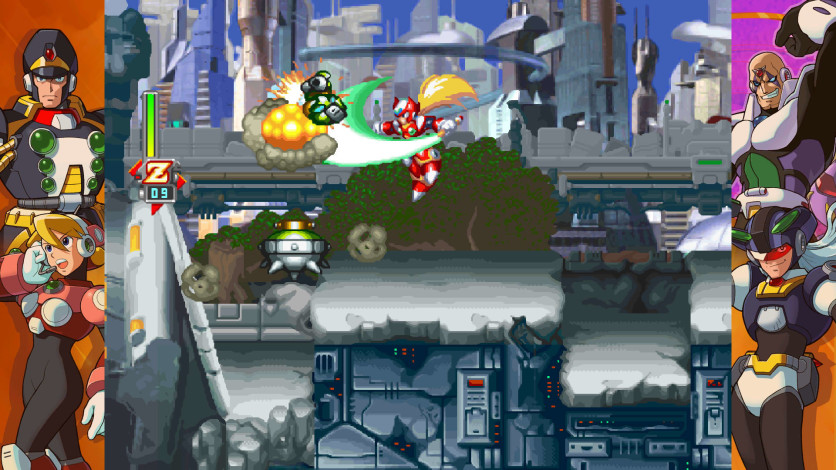 Screenshot 3 - Mega Man X Legacy Collection 2