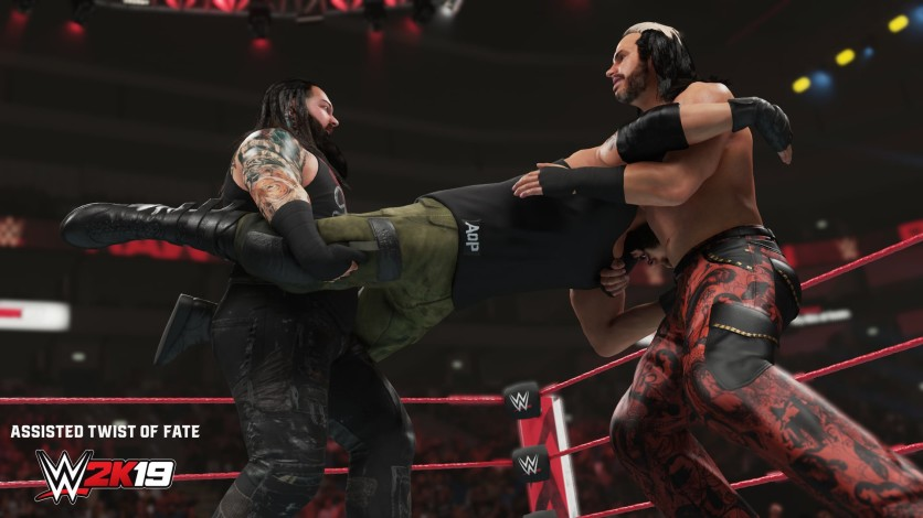 Screenshot 2 - WWE 2K19 - New Moves