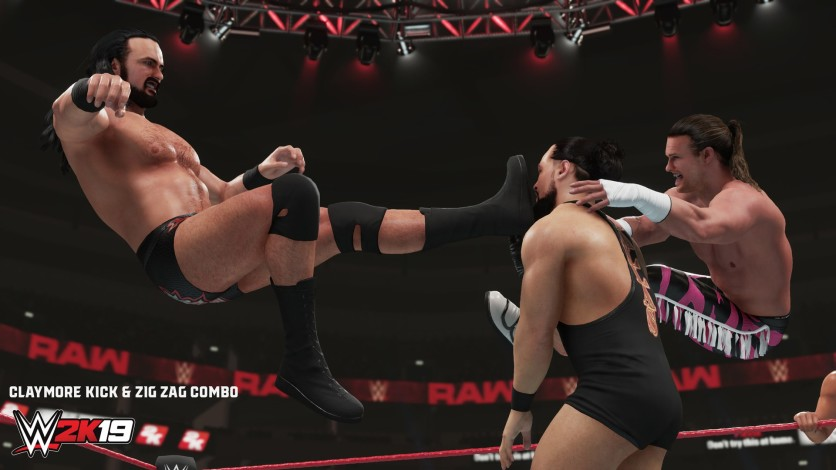 Screenshot 1 - WWE 2K19 - New Moves