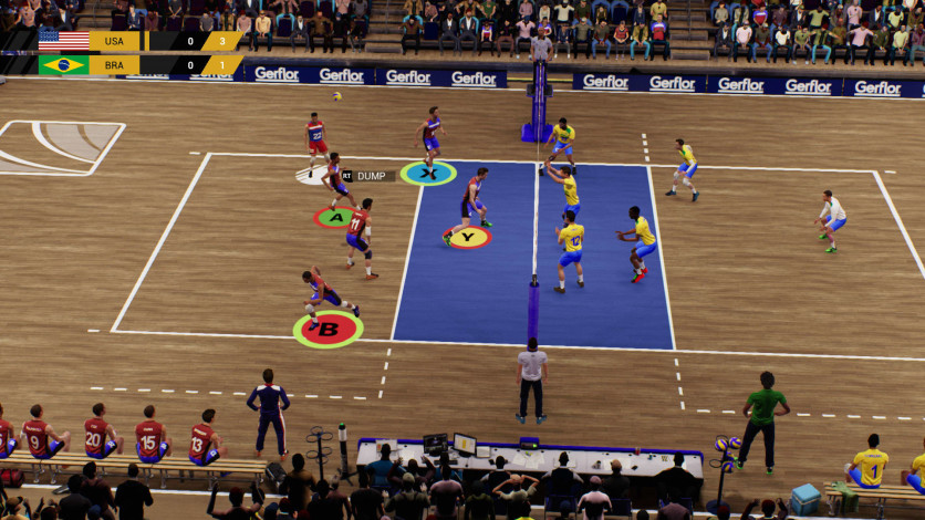 Screenshot 2 - Spike Volleyball