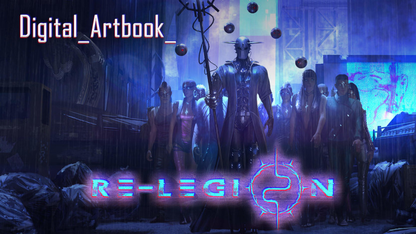 Screenshot 1 - Re-Legion - Digital Artbook