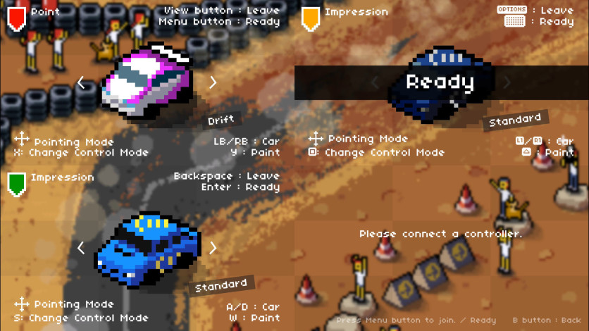 Screenshot 6 - Super Pixel Racers