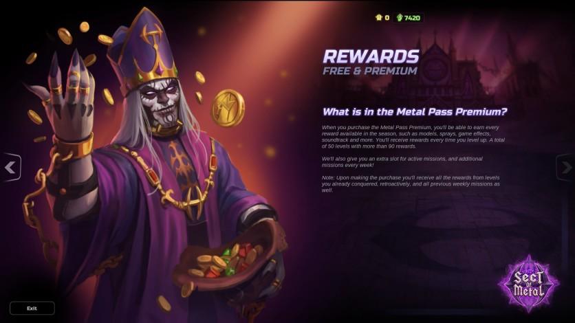 Screenshot 4 - HMM Metal Pass Premium Season 3 + 1.300 Cash