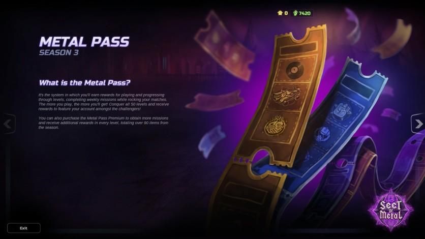 Screenshot 3 - HMM Metal Pass Premium Season 3 + 1.300 Cash