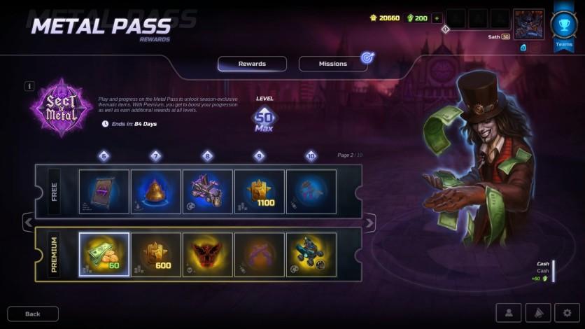 Screenshot 2 - HMM Metal Pass Premium Season 3 + 1.300 Cash