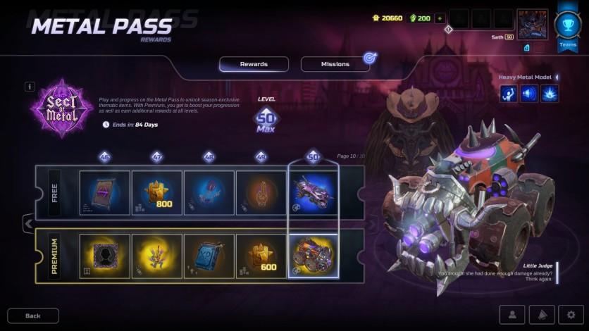 Screenshot 2 - HMM Metal Pass Premium Season 3