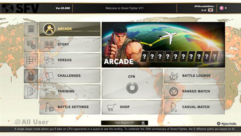 Screenshot 6 - Street Fighter V : Arcade Edition
