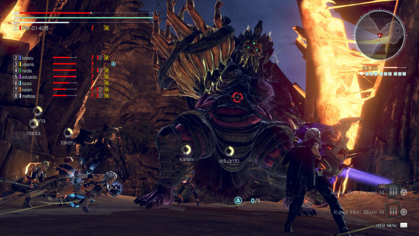 Screenshot 2 - GOD EATER 3