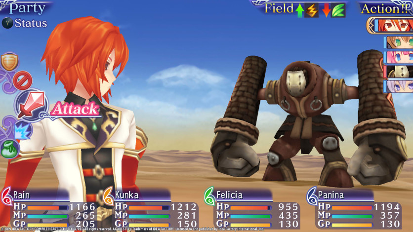 Screenshot 7 - Record of Agarest War Mariage