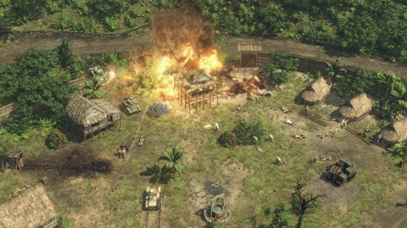 Screenshot 2 - Sudden Strike 4: The Pacific War