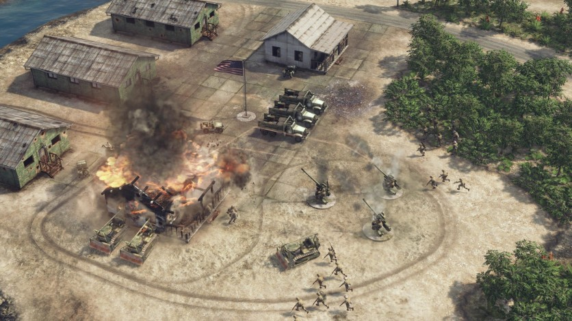 Screenshot 7 - Sudden Strike 4: The Pacific War