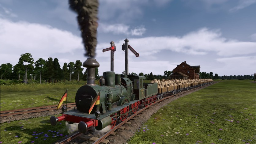 Screenshot 4 - Railway Empire: Germany