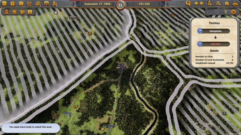 Screenshot 5 - Railway Empire: Germany