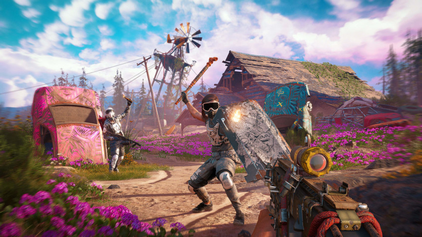 Screenshot 8 - Far Cry New Dawn - Retro Weapons Pack
