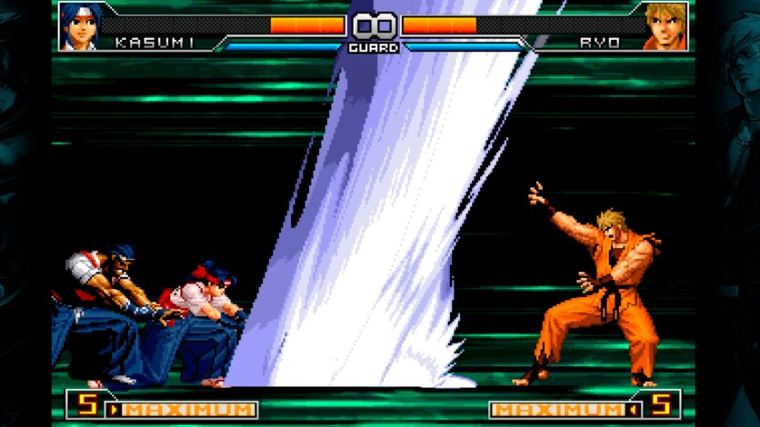 Screenshot 5 - The King of Fighers 2002 Unlimited Match