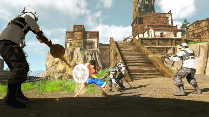 Screenshot 4 - ONE PIECE WORLD SEEKER - Deluxe Edition