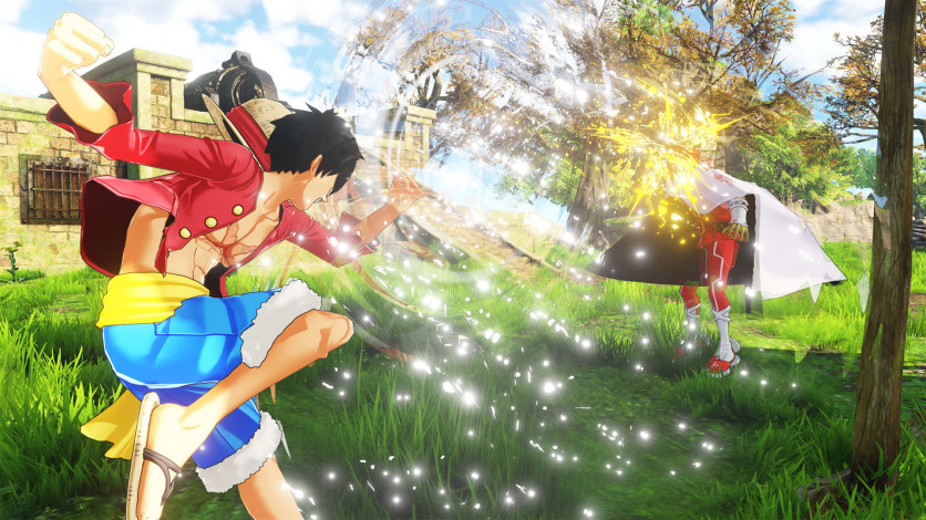 Screenshot 2 - ONE PIECE WORLD SEEKER - Deluxe Edition