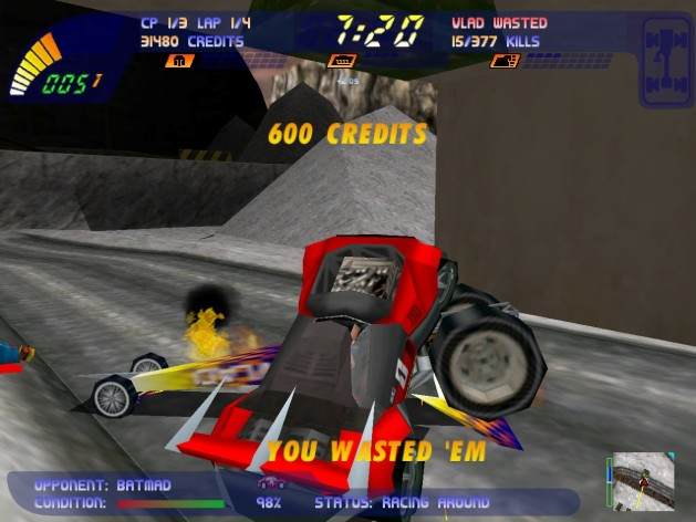 Screenshot 7 - Carmageddon 2 Carpocalypse Now