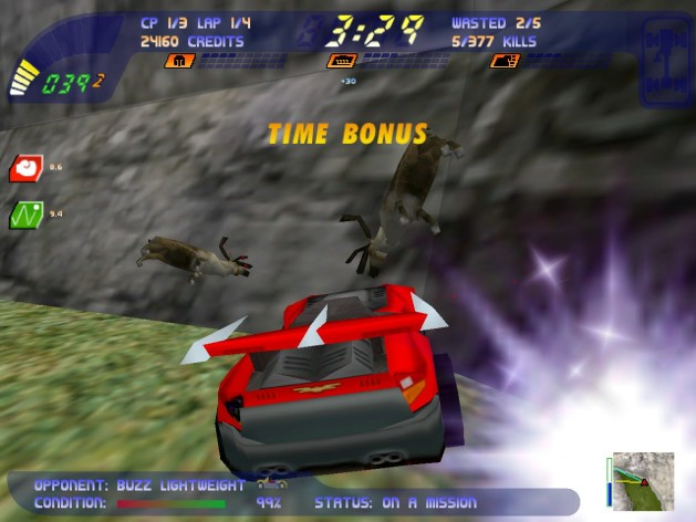 Screenshot 5 - Carmageddon 2 Carpocalypse Now