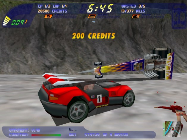 Screenshot 8 - Carmageddon 2 Carpocalypse Now